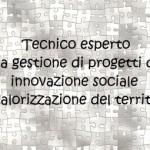 Logo del gruppo di Tecnico esperto nella gestione di progetti di innovazione sociale e valorizzazione del territorio